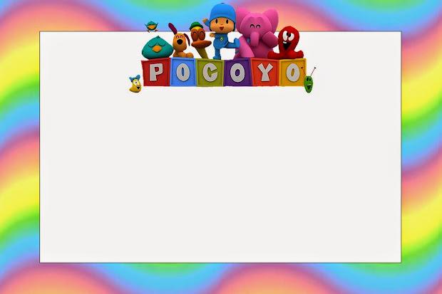 Invitaciones De Pocoyo Para Imprimir