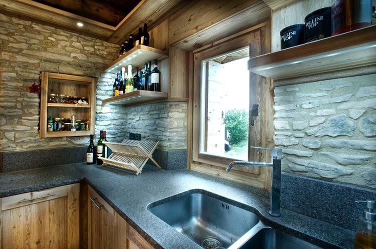 Caldo chalet di montagna gennaio 2014 - Cucina di montagna ...