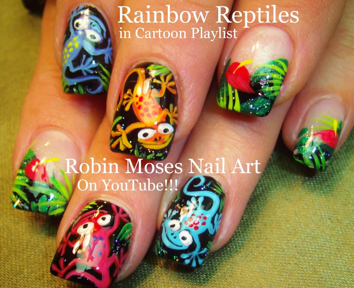 Robin Moses Nail Art Quotnail Artquot Quotlizard Nailsquot Quotgecko Nails
