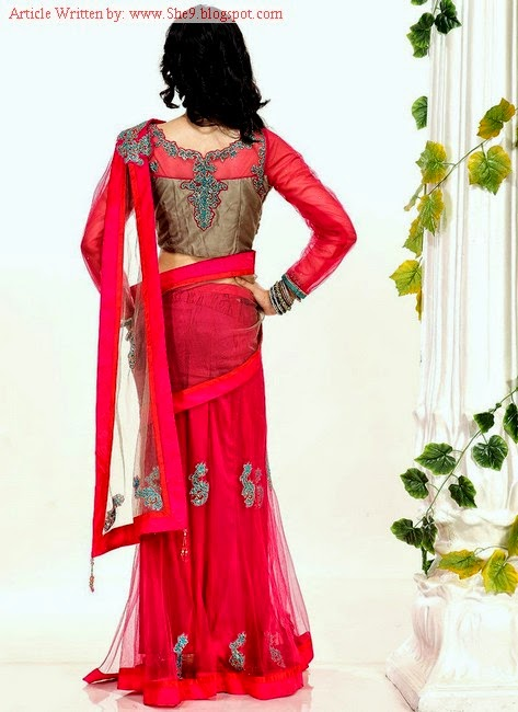 Latest Saree and Blouse Designs