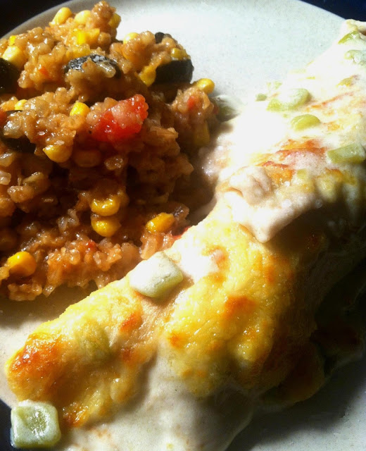 Twirl and Taste: Chicken Enchiladas with Creamy Green Chili Sauce and ...