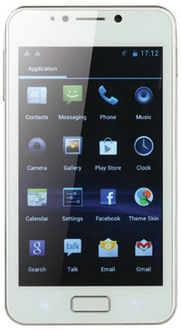layar 5 touch screen os android os 4 0 ice