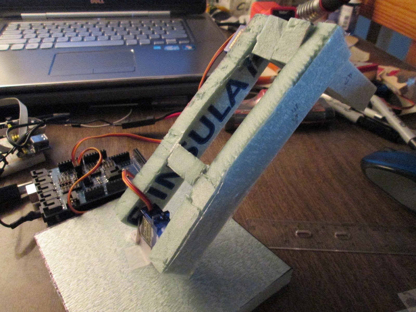 Projects from tech simple arduino robot arm gram