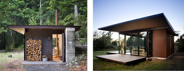 Dos refugios de madera olson kundig architectes espacios en madera - Refugios de madera prefabricados ...