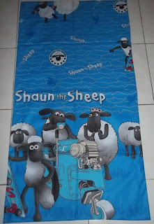 Sarung Bantal Cinta Shaun The Sheep