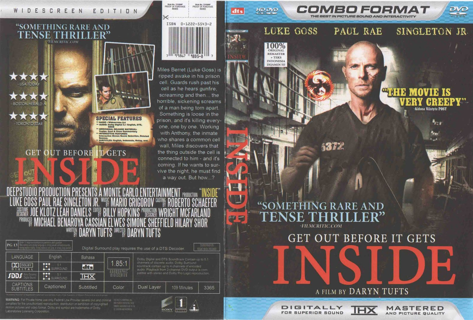 Movie shop inside dvd 2012 for Inside movie