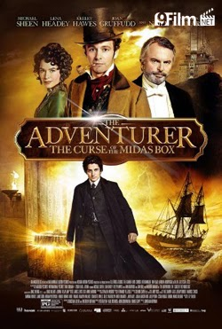 The Adventurer: The Curse Of The Midas Box 2014 poster