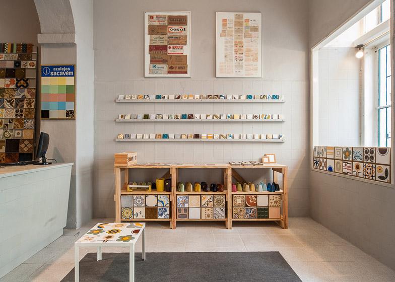 Nuovo negozio cortico netos di piastrelle vintage arc art