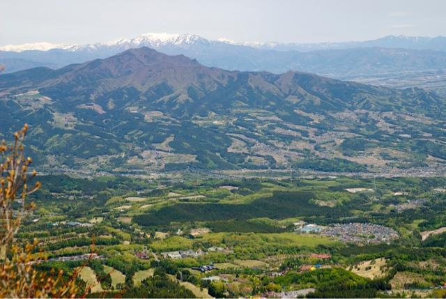 View from Mt.Mizusawa