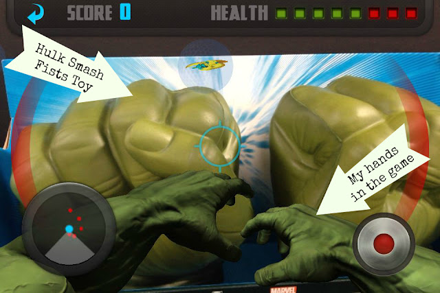 Using the Avengers Augmented Reality App at Walmart #MarvelAvengersWMT