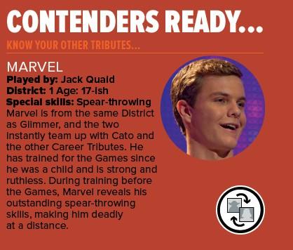 Marvel Hunger Games Jack Quaid Jack Quaid as Marvel