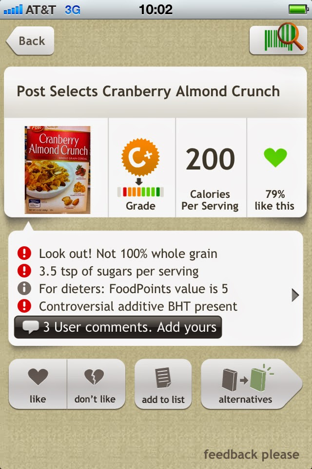 fooducate, grocery shopping tips, healthy apps