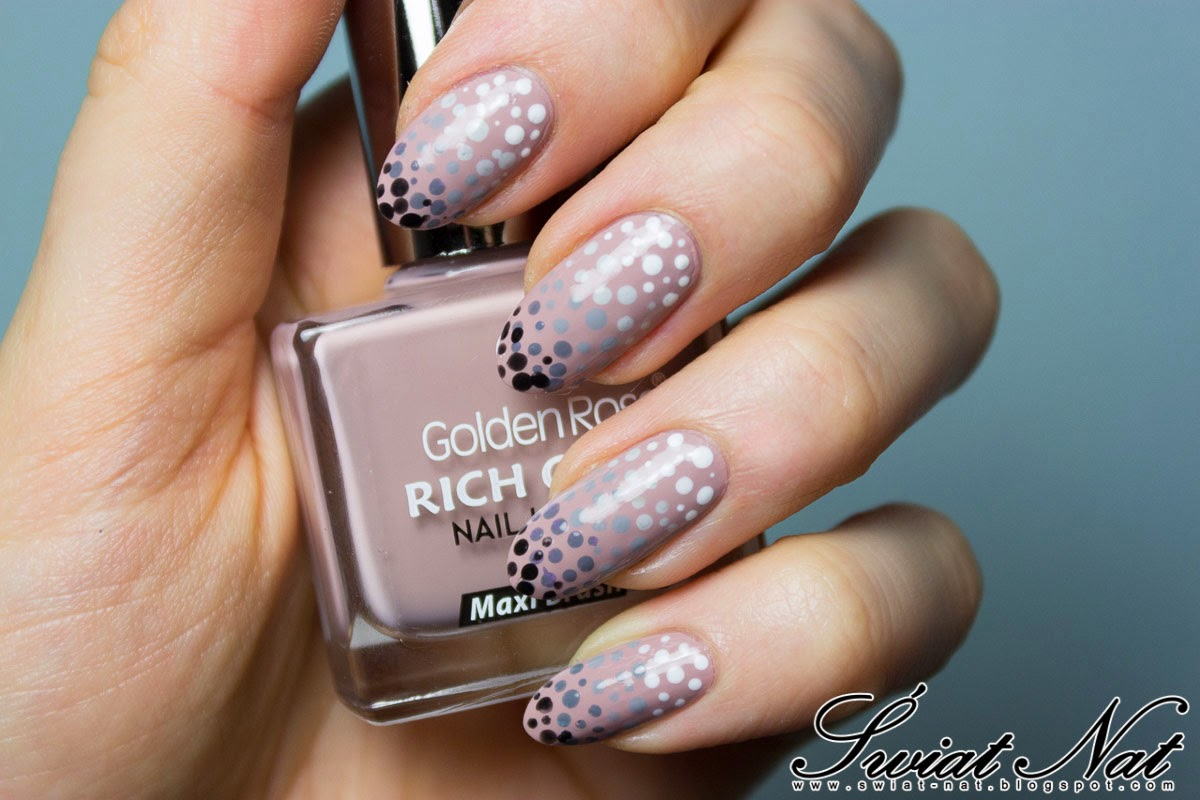 golden rose, sally hansen, mani, manicure, nails