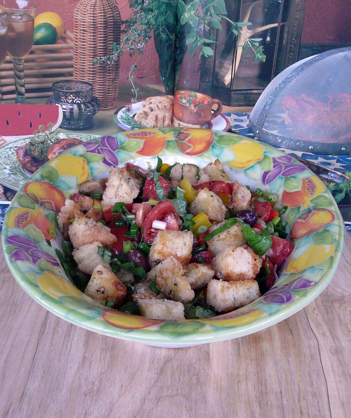 ... cross between a Panzanella Salad and the Zuni Cafe's Bread Salad