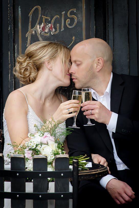 svenska brudpar i paris