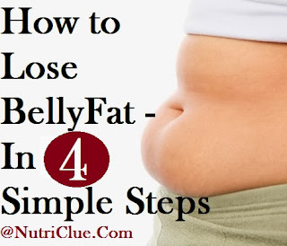 How to Lose Belly Fat - In 4 Simple Steps