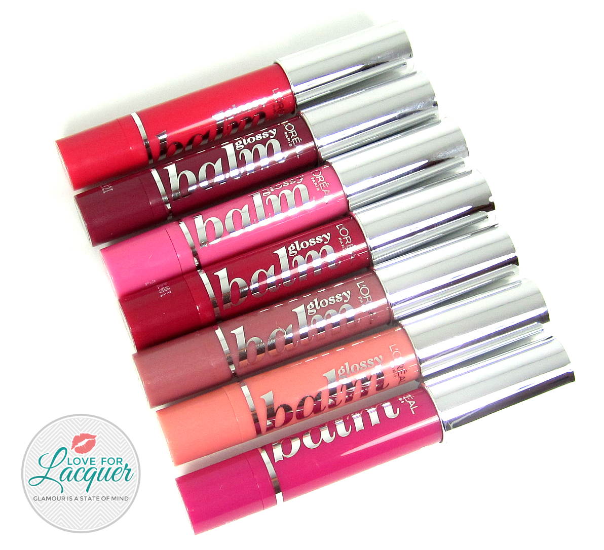 L Oreal Glossy Balm Collection Swatches Review Love For