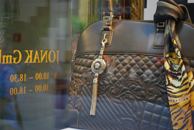 Schaufenster von Versace - Wien