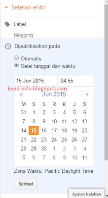 Cara-mengatur-jadwal-posting-di-blog