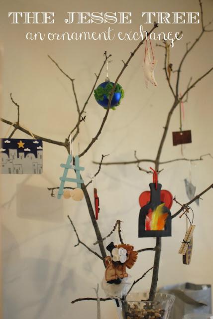 The Jesse Tree Ornament Exchange