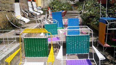 Diseño Sostenible Colombia sillas