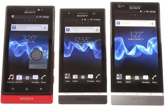 price of unlocked sony xperia handsets