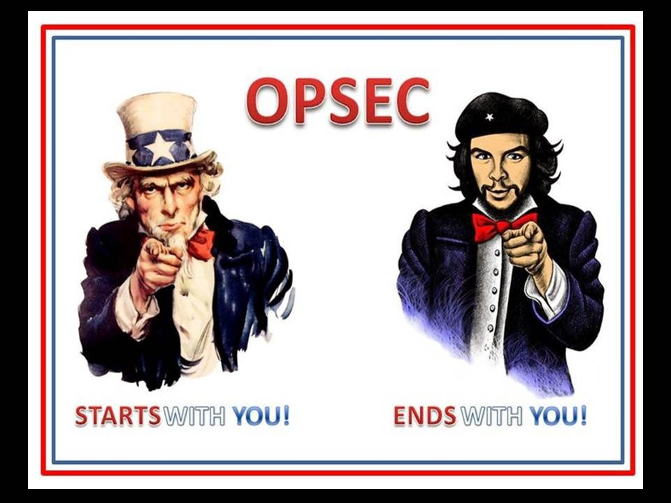 OPSEC poster with Uncle Sam