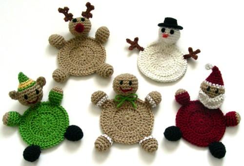 Adornos navide os tejido a crochet imagui - Adornos navidenos crochet ...