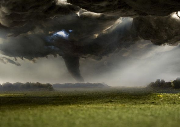 Matthew Albanese fotografia set designer maquetes modelos miniaturas hiper realistas Tornado