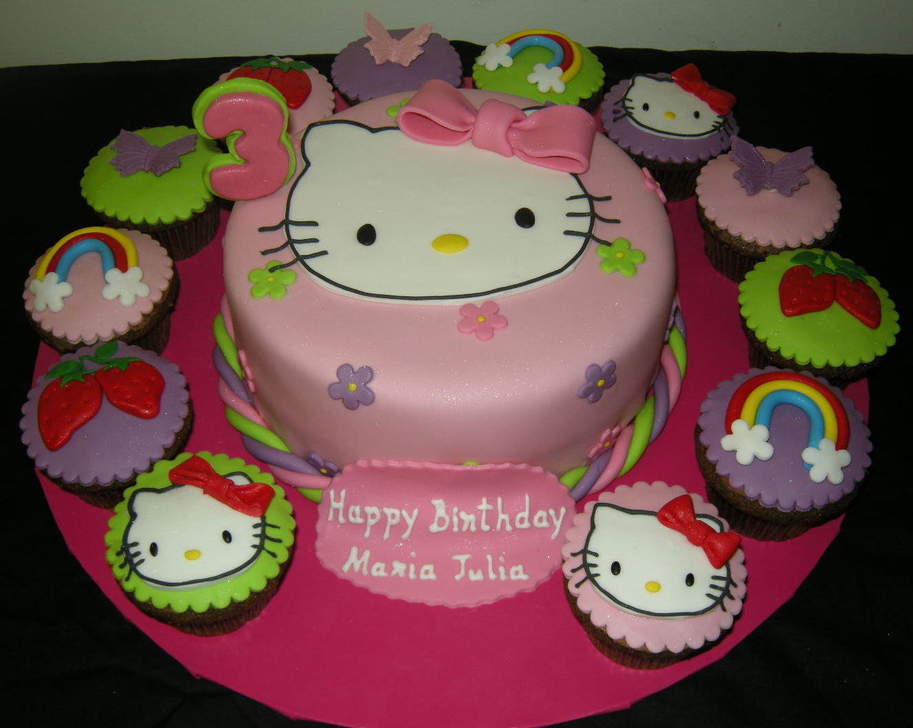 Harshis Cakes Bakes Cakes For Maria Julia