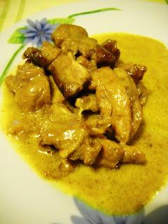 pollo curry e arancia