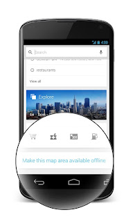 Get Offline Maps in Google Maps for Android