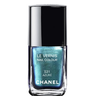 Dupe for Chanel nail polish Azuré 531