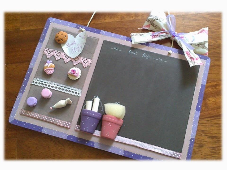 Valentina handmade sweet creations lavagna cake design - Lavagna magnetica da cucina ...