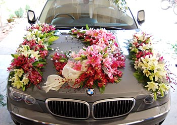 Wedding Car Decorations and Accessories ~ Pakistani Designers
