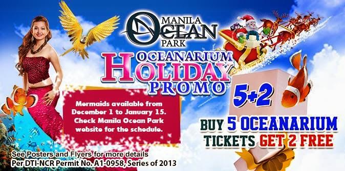 : Manila Ocean Park Oceanarium Holiday 5+2 Promo on December 1 2013
