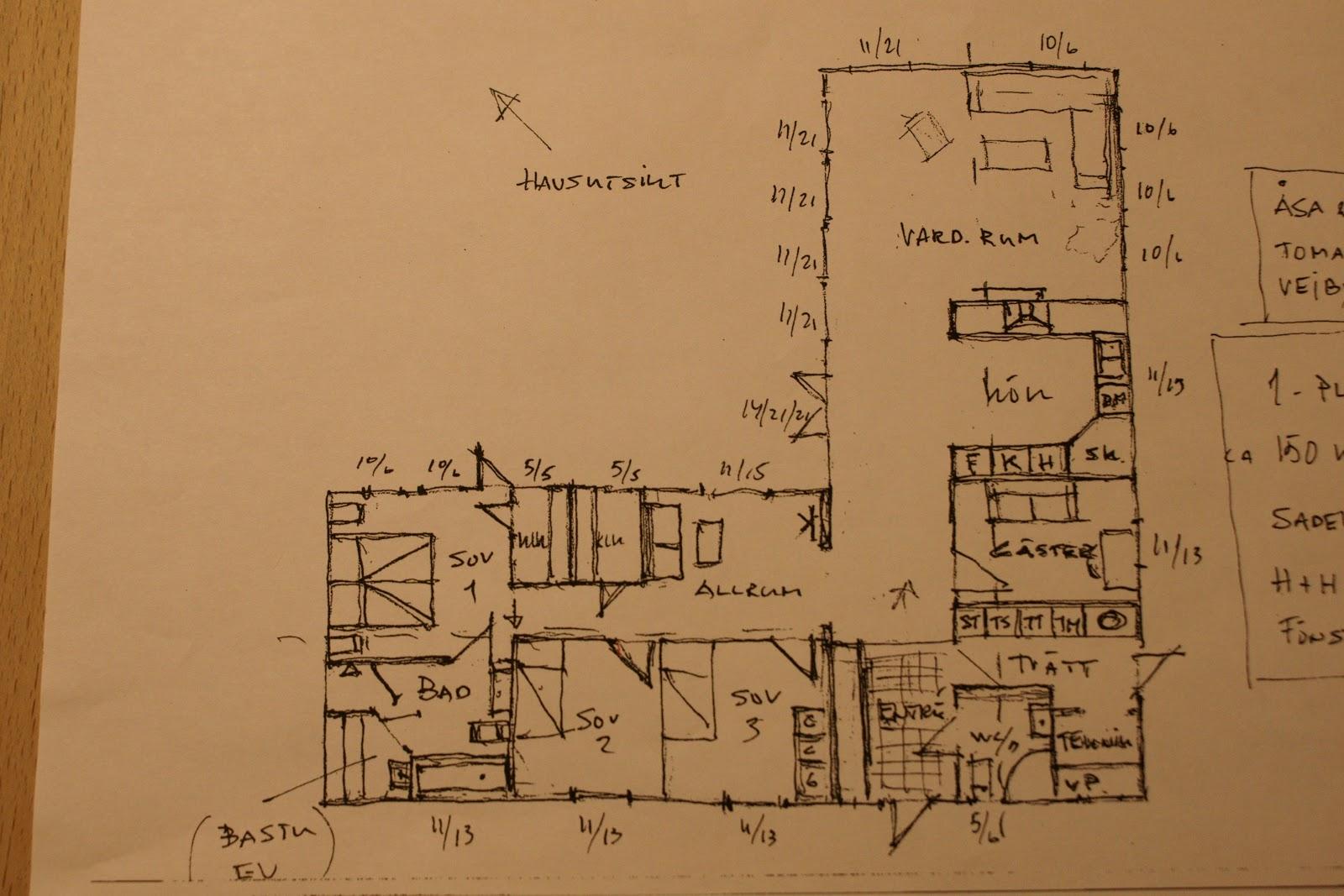 Bygga hus: att rita hus