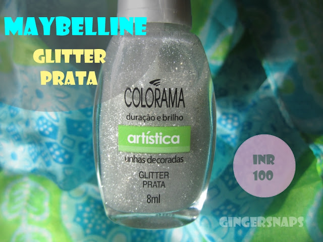 Maybelline Glitter Prata Review Price
