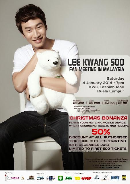 lee kwang soo, malaysia,