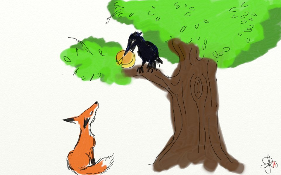 Journal d 39 une voix 6 boots in the booth - Coloriage le corbeau et le renard ...