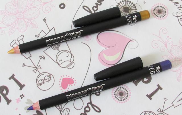 lápis, olhos, metalizado, monster high, fenzza