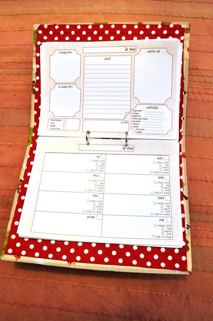 לוח תכנון לבלוגריות