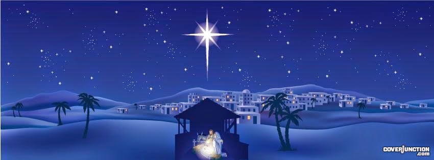 Christmas Nativity Scene Cover Photo