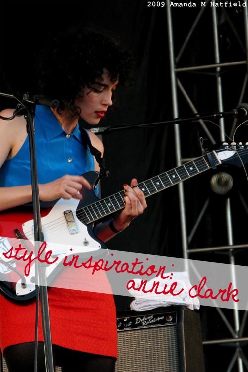 Style Inspiration: Annie Clark