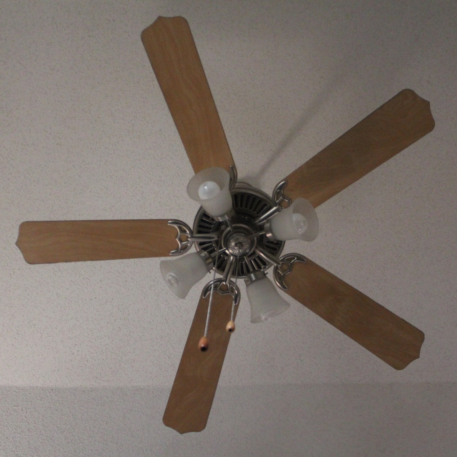 Paint Ceiling Fan : Callie s crafts ceiling fan makeover