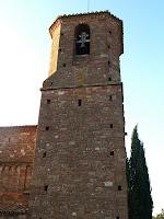 El campanar de Sant Martí del Brull