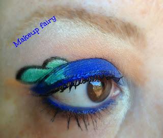 eye makeup look disney goofy