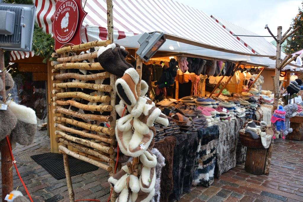 Christmas Market Riga wool