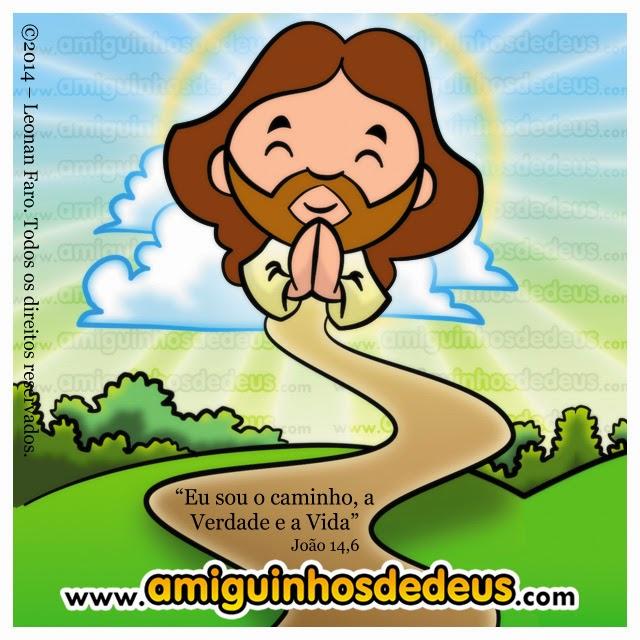jesus caminho verdade e vida desenho