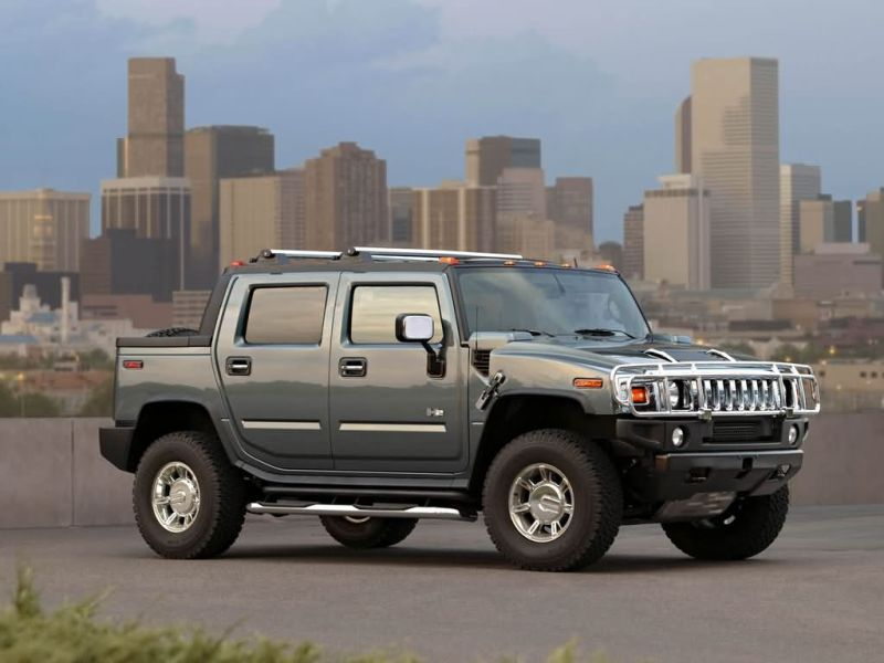 Hummer h2 sut stretched limousine 2013 four doors open car have 5